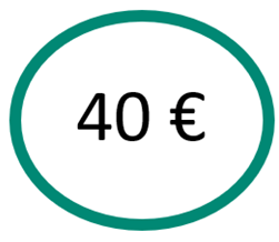 EspaceLe13 logo 40 euros