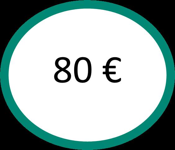 EspaceLe13 logo 80 euros