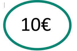 EspaceLe13 logo 10 euros