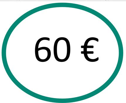 EspaceLe13 logo 60 euros